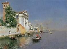 111: Rubens Santoro Italian, 1859-1942 SANTA MARIA DEL