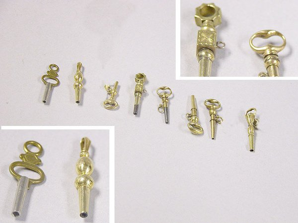 1004: Group of Assorted Watch Keys