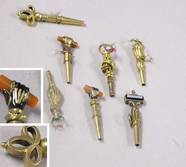 1006: Group of Assorted Watch Keys
