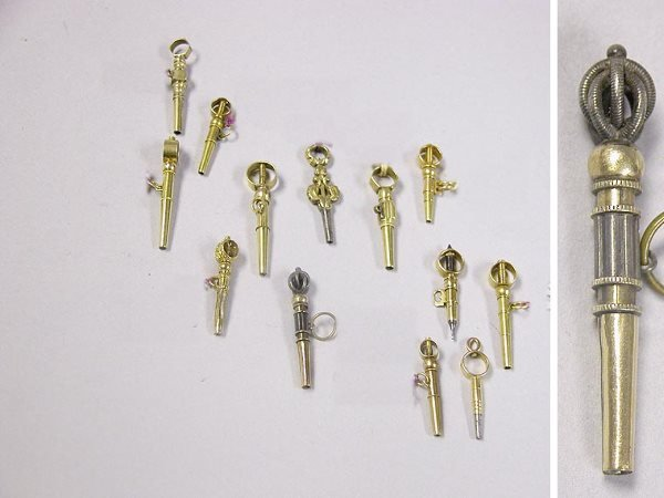 1008: Group of Assorted Watch Keys