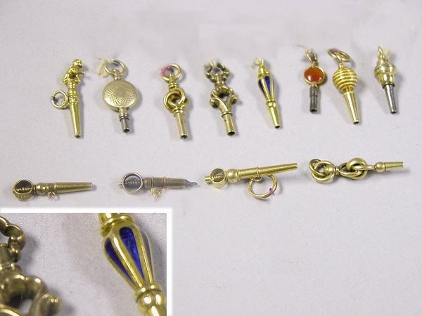 1009: Group of Assorted Watch Keys