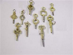 Group of Assorted Watch Keys