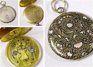 Gold Hunting Case Watch