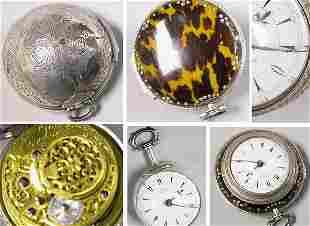 Large Calandra Silver Watch