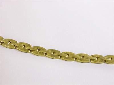 1164: Gold Link Bracelet