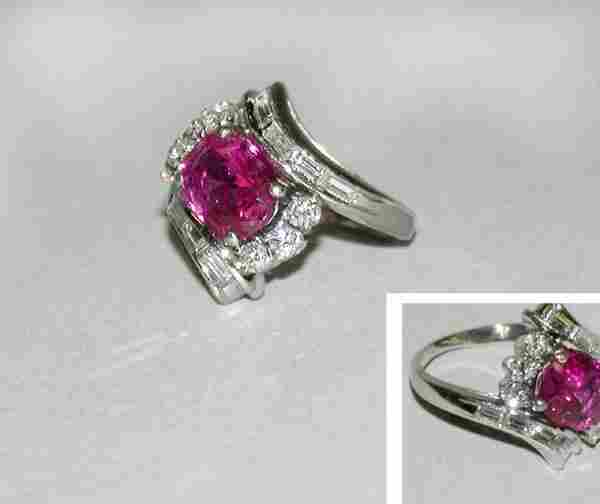 1503: Ruby and Diamond Ring