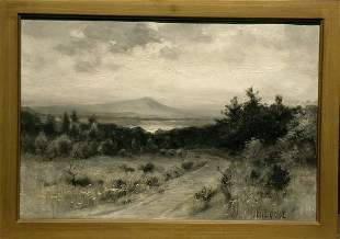 Bruce Crane American, 1857-1937 ROAD TO THE LAKE