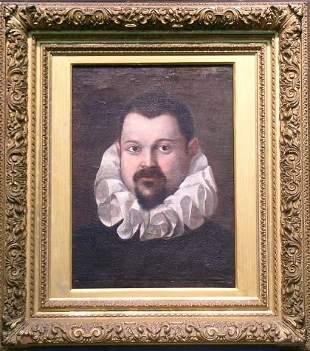 Manner of Federico Barocci PORTRAIT OF A GENTLEMAN W
