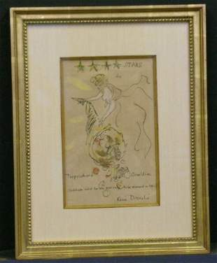 Rene Bouche Czechoslovakian, b.1906 FOUR STARS TO TE