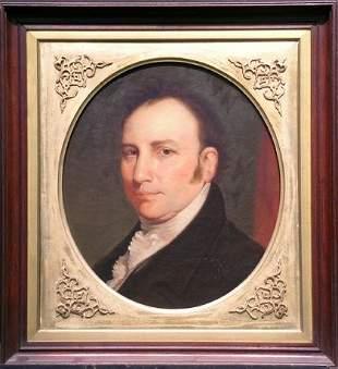 William Brigham American, 1834-1863 PORTRAIT OF AN