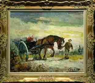 Corbet 20th Century HORSE DRAWN CARRIAGE