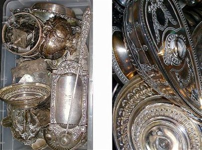 407: Miscellaneous Group of Sterling Silver and Contine