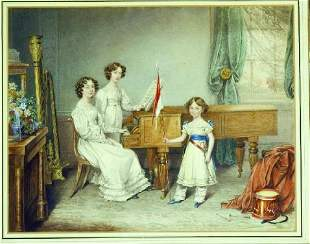 Austrian School, Early 19th century THE RECITAL