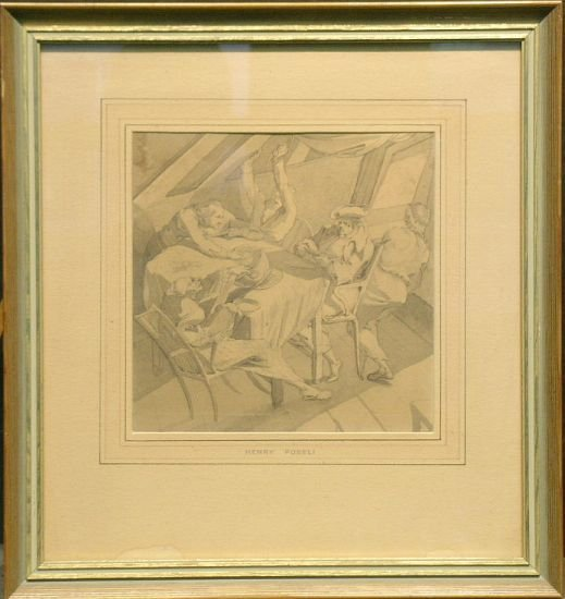 1005: Attributed to Johann Heinrich Fuseli A MIDNIGHT M