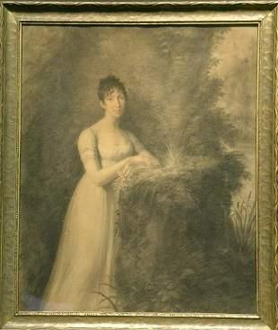 Italian School 19th Century PORTRAIT OF ANGELINE