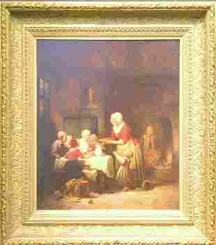 Attributed to Basile de Loose FAMILY MEAL