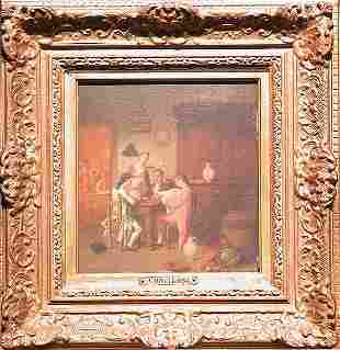 Johann Mongles Culverhouse Dutch/American, 1820-1