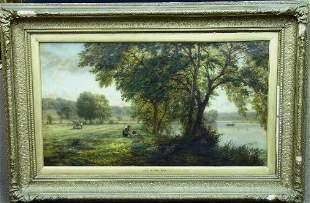 Walter Field English, 1837-1901 NEW MOWN HAY