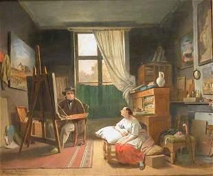 Ferdinand De Braekeleer, I Belgian, 1792-1883 ART