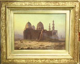 Paul Pron Continental, 19th century MOSQUE OF THE