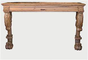 George II Style Pine Console