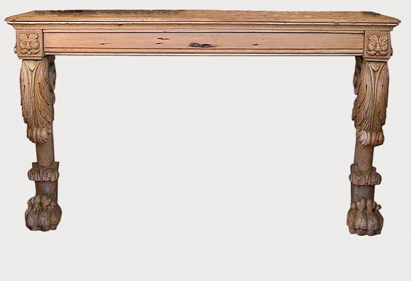 3001: George II Style Pine Console