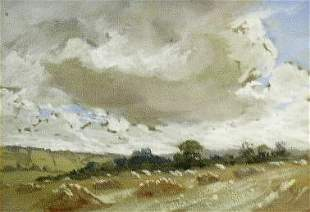 Manner of John Constable CLOUDS STUDY