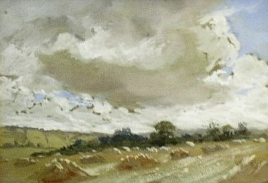 13: Manner of John Constable CLOUDS STUDY