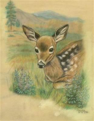 Gladys Emerson Cook American, 1899-1976 ANIMAL PORT
