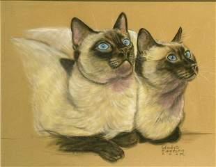 Gladys Emerson Cook American, 1899-1976 CAT PORTRAI