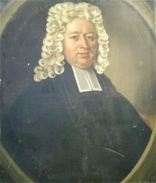 English School 18th Century PORTRAIT OF A JUDGE