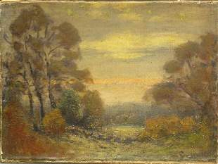 John Joseph Enneking American, 1841-1916 TWILIGHT