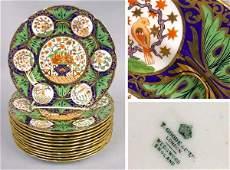 536: Twelve Wedgwood Service Plates