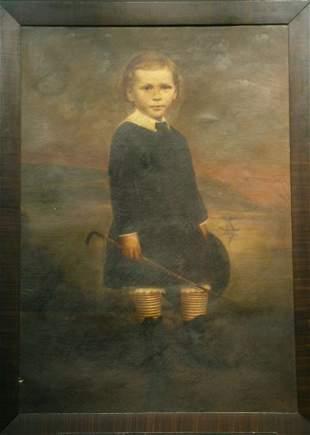 American/British School 19th/20th century PORTRAI