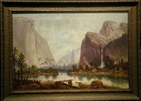 1008: Harry Cassie Best 1863-1936 YOSEMITE