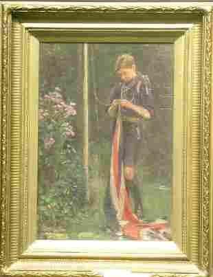 Ernest Stafford Carlos British, 1883-1917 A YOUNG