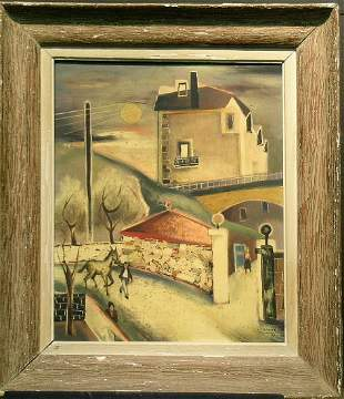 Charles Chartier French, b.1894 VERS CLAMART