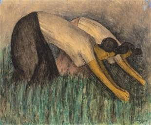 Rufino Tamayo Mexican, 1899-1991 Untitled (Women