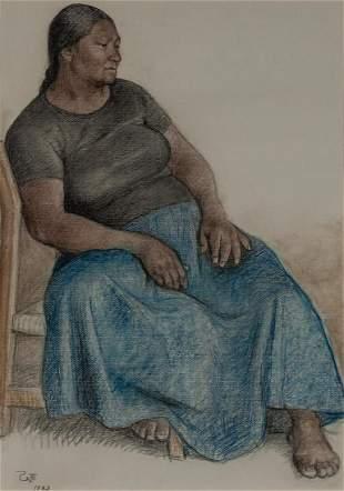 Francisco Zuniga Mexican, 1912-1998 Rosa, 1983