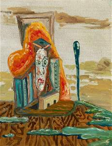 George Condo American, b. 1957 Untitled, 1984