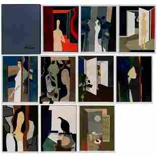 André Minaux (1923-1986) HÉLÈNE Ten