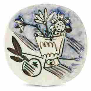 Pablo Picasso (1881-1973) BOUQUET Á LA POMME