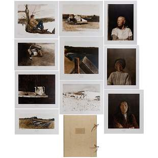 After Andrew Wyeth (1917-2009) ANDREW WYETH PAINTINGS