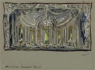Cecil Beaton British, 1904-1980 Set Design for