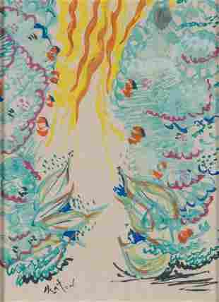 Cecil Beaton British, 1904-1980 Paysage Signed Beaton