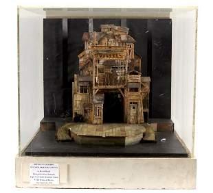 Douglas W. Schmidt American, b. 1941 Set Diorama for