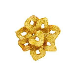 Pomellato Gold Brooch