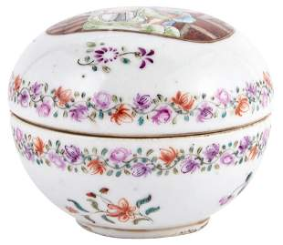 A Finely Enameled European Subject Chinese Porcelain