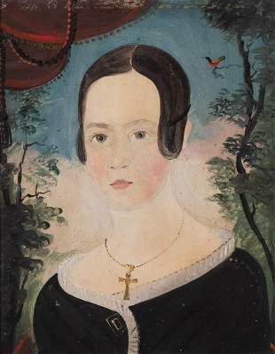 William Matthew Pryor American, 1806-1873 Portrait of a