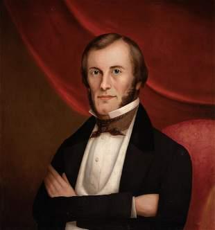 Horace Bundy American, 1814-1883 Vermont Gentleman from